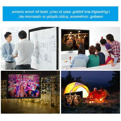 """120"""" 4:3 Projection Home Movie Outdoor"""