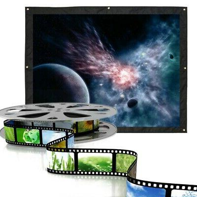 120 hd 4 3 projector projection screen