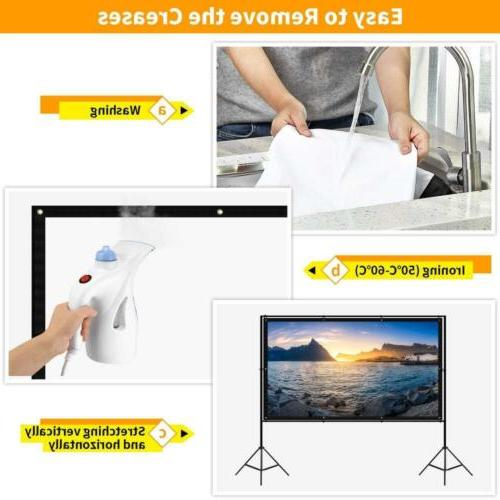 """120 inch Projector Screen with 120"""""""
