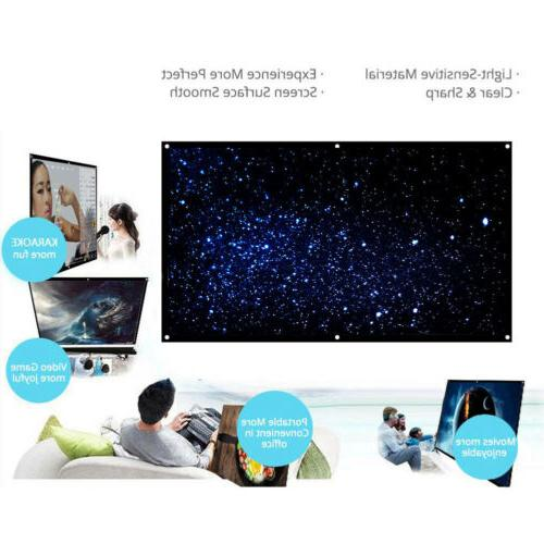 120'' Portable Projector Screen Theater