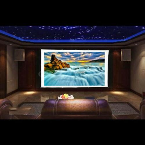 120'' Portable Screen Theater 3D