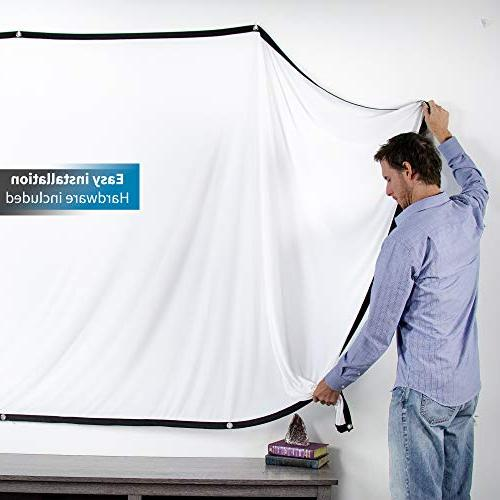 VIVO Foldable Projector Screen | Indoor HD Portable Screen with