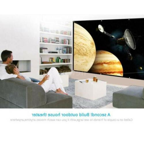 120inch Foldable Projector Screen 16:9 HD