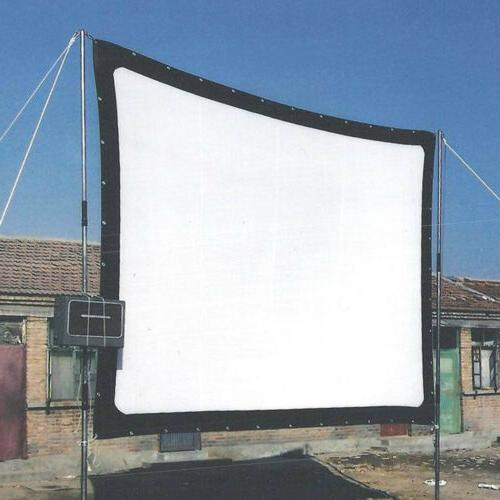 150 Inch 16:9 Pull Down Projector Screen Theater