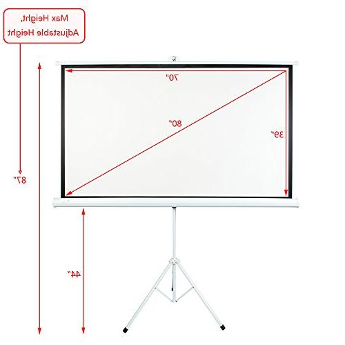 ShowMaven 80 16:9 Matte Theater Projection Home Using
