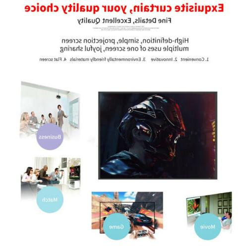 16:9 Foldable Screen HD Home Outdoor