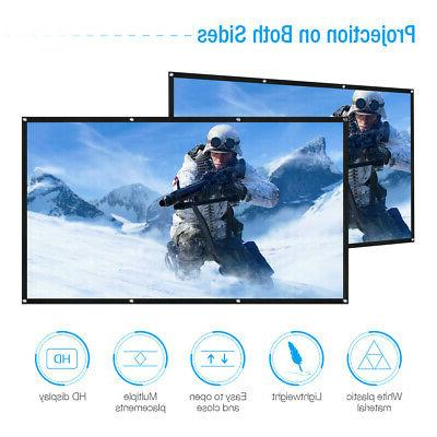"""120"""" HD Projection Projector Home Cinema"""