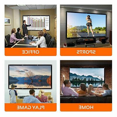 120inch 2PCS Projector Screen 16:9 Theater Outdoor Movie Screen
