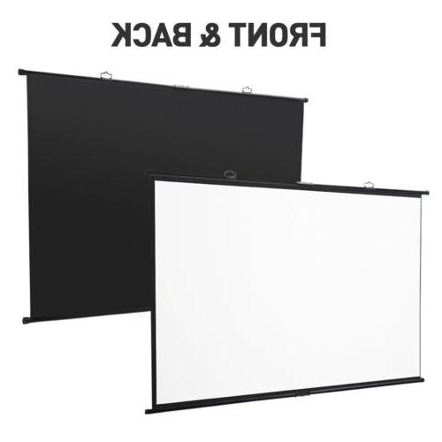 "100"" Projector Screen Foldable Home Projection Screen"