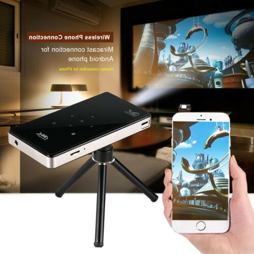 4K Smart DLP Projector Android 1080P HDMI CO