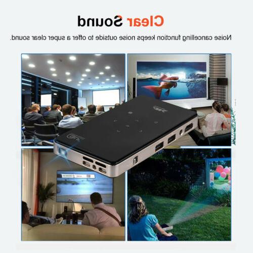 4K Projector Bluetooth 1080P 8G Home HDMI CO