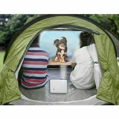 """60""""/120""""/150"""" Projector Theater Outdoor"""