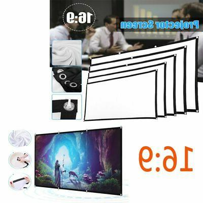 60 120 150 portable foldable wall projector