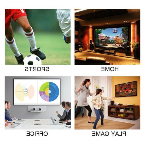 "120"" Projector Screen 16:9 4K Movie Foldable"