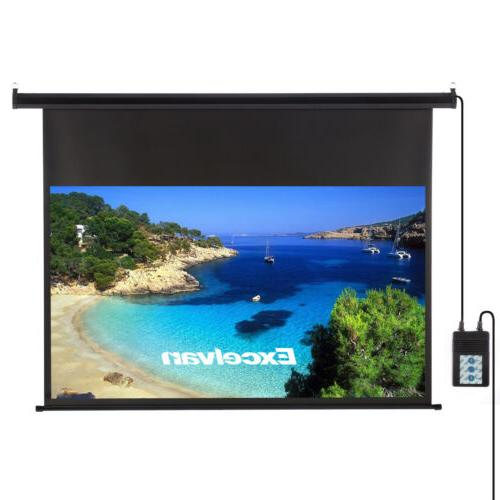 "60""-150"" Electric Manual/Tripod Screen"