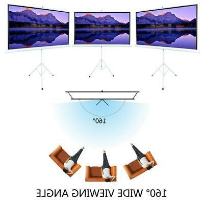 """84"""" Projection Screen Foldable Stand Home Theatre"""
