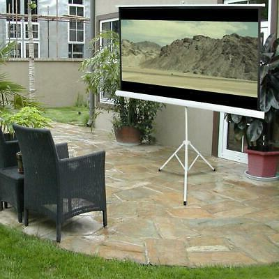 84 tripod portable projector projection screen 16