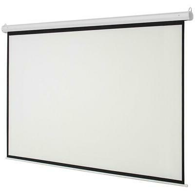 """Leadzm 92"""" HD Foldable Projector Screen Remote White"""