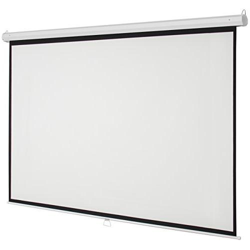 Best Ultra Gain Indoor Pull Widescreen Wall Screen White