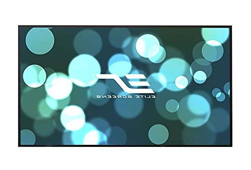 Elite 150-inch 4K HD Theater Frame FREE Projector Screen, CineWhite Projection AR150WH2