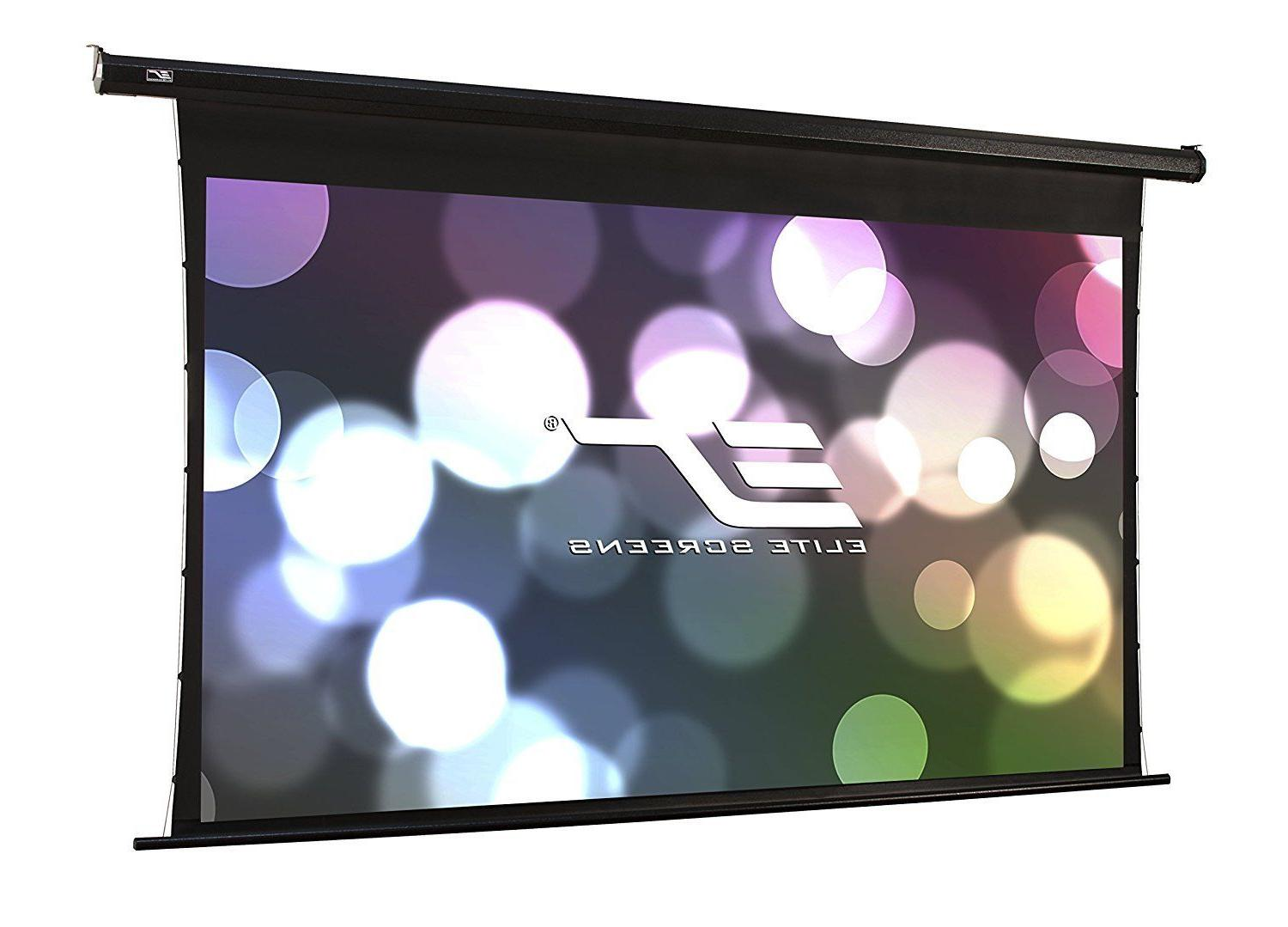 Elite Screens Spectrum Tab-Tension, 125-inch 16:9, 4K Tensio