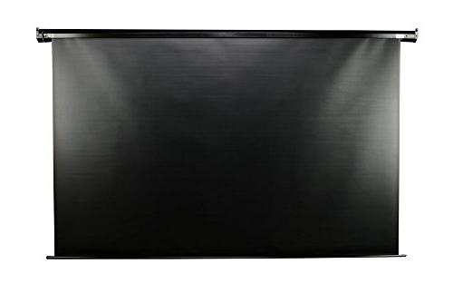 "Elite 100-inch 4:3, 24"" Electric Motorized Projection Projector Screen,"