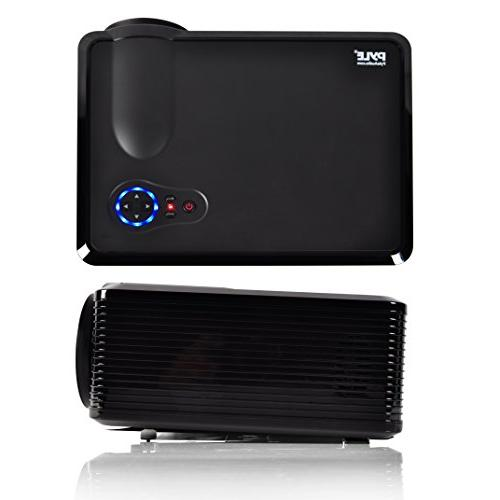"""Pyle Updated Video 5"""" - LED Cinema Home Theater with Stereo Speakers, 2 HDMI for PC Computer & Laptop"""