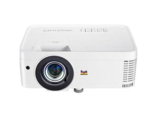 ViewSonic PX706HD Home Theater Projector Throw
