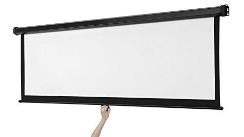 VonHaus Pull 16:9 For Home Theater Suitable HDTV, Sport, Gaming
