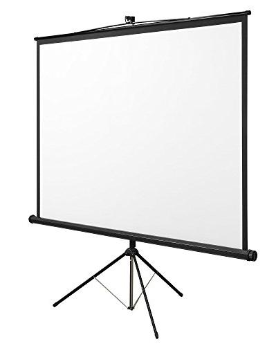 VonHaus 84 Inch Standing Screen - TV/Home Platform 4:3 Projection - Suitable LCD and