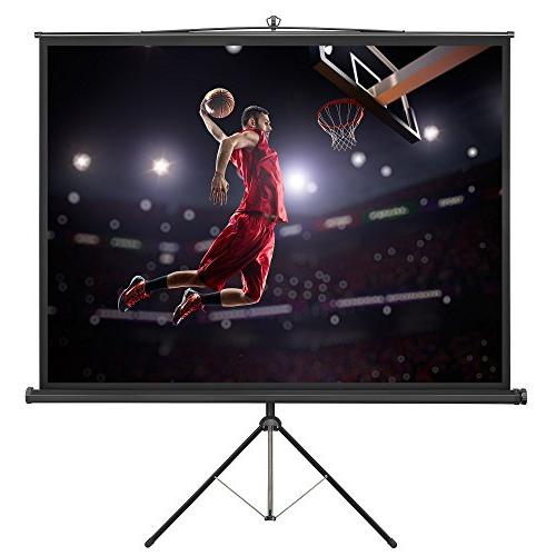 VonHaus 84 Standing Projector - TV/Home 4:3 Aspect - LCD and