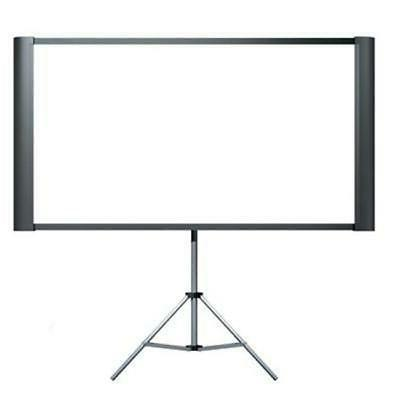 america inc elpsc80 duet portable projector screen