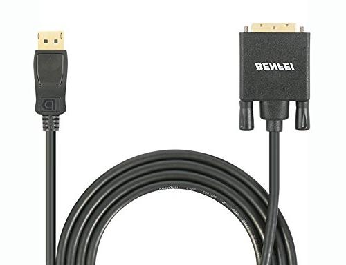 BENFEI Adapter, Dp Port to DVI Converter Male to Male Gold-Plated 6 Black and Other Brand