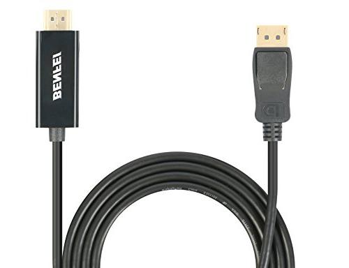 DisplayPort Feet DisplayPort to Male Gold-Plated for Lenovo, Dell