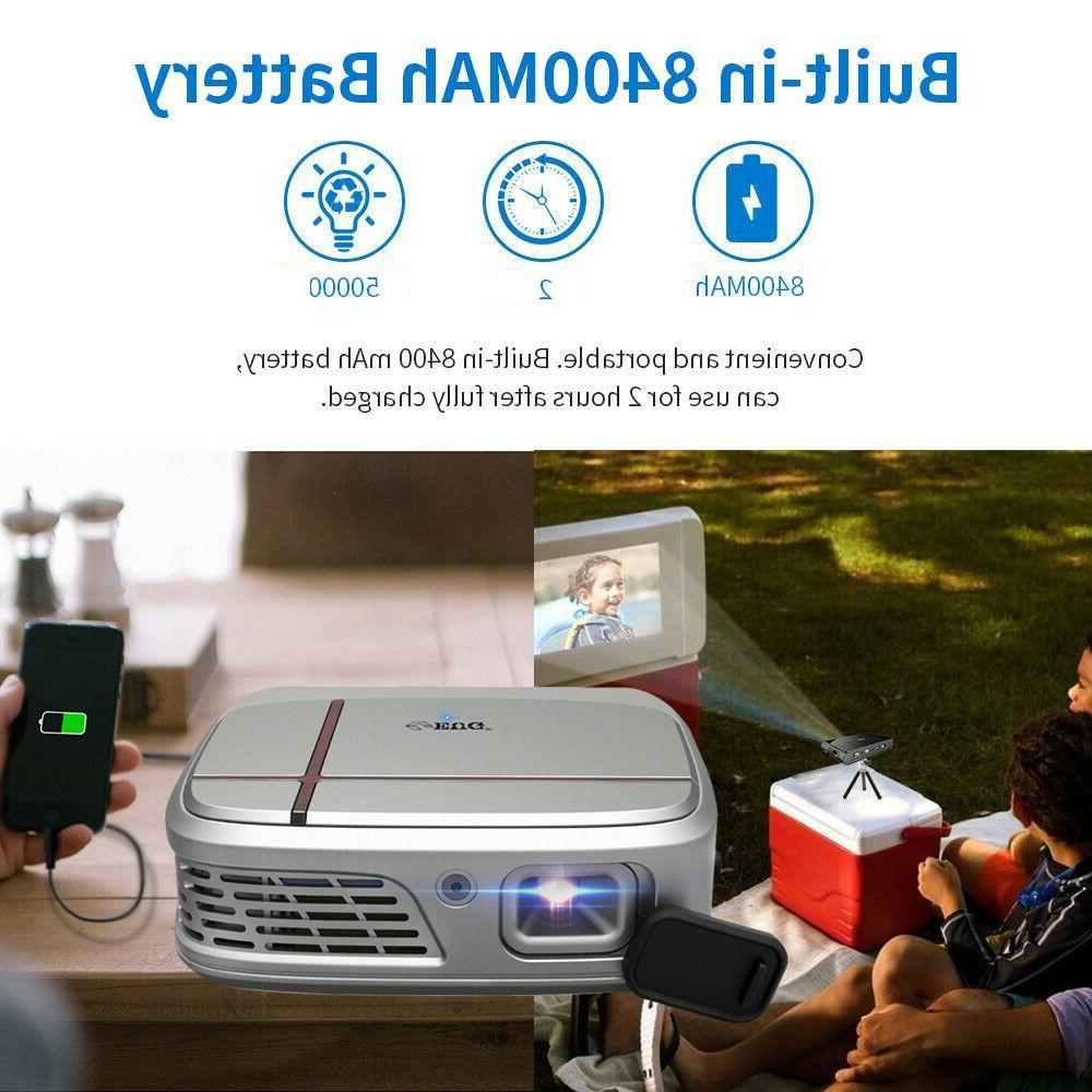 DLP Projector Portable Airplay Mirror Screen