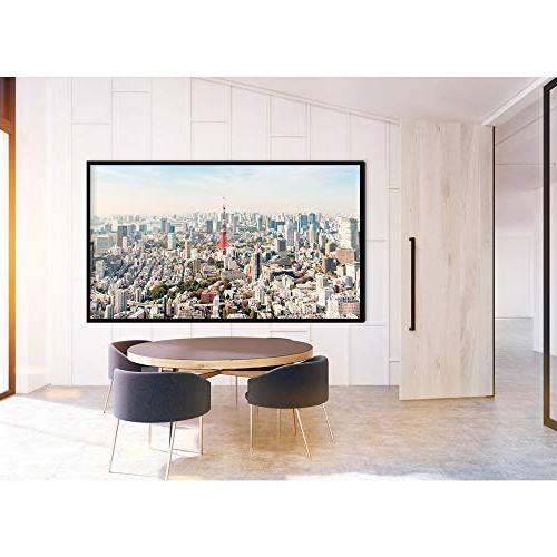 Nierbo Screen 16:9, 3D Ultra Frame Home Theater with Kit,PVC