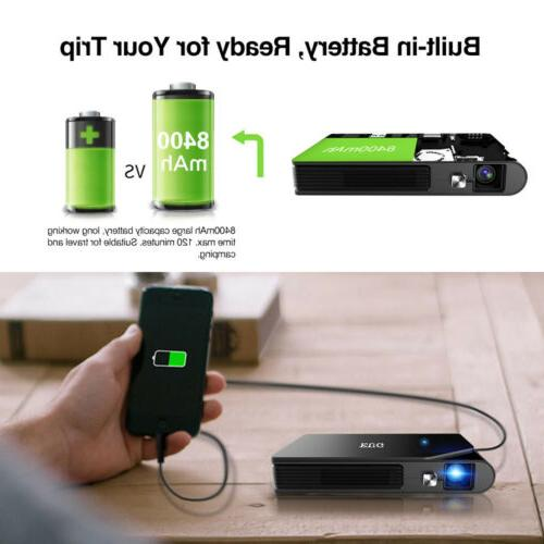 Full HD Pocket 3D DLP Projector Mirror Movie US