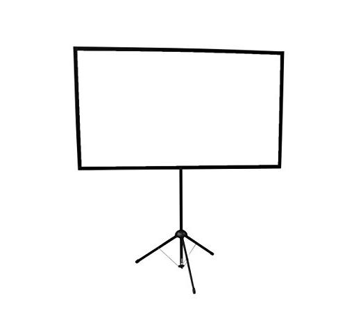 GO-80: 2-in-1 Projection Screen | 80 Mounts Tripod Wall | | | 2 minute setup | Includes Carrying | For presentation Home Entertainment HD ready