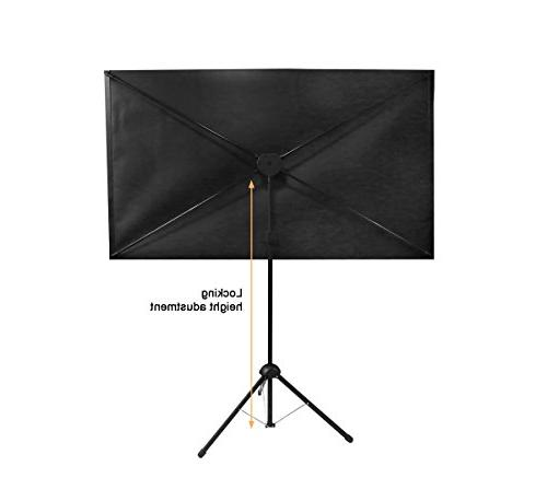 GO-80: Projection Screen | Mounts on Wall | 9 lbs 2 setup | Includes Bag For presentation Home |4K HD ready