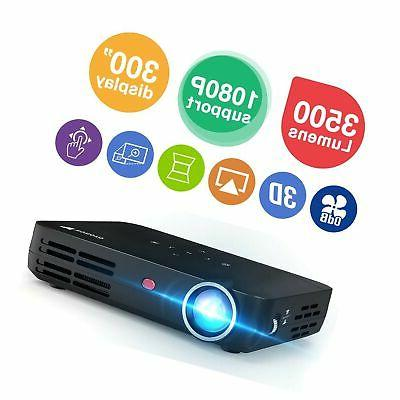h8 mini projector dlp real
