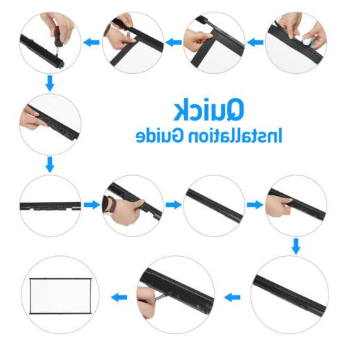 """100"""" Projector Manual Pull Down"""