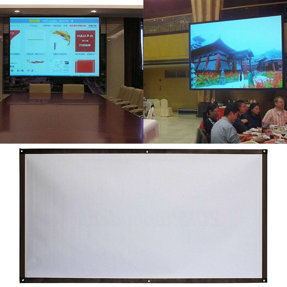 HD Home Theater Projection Screen 60''~120''
