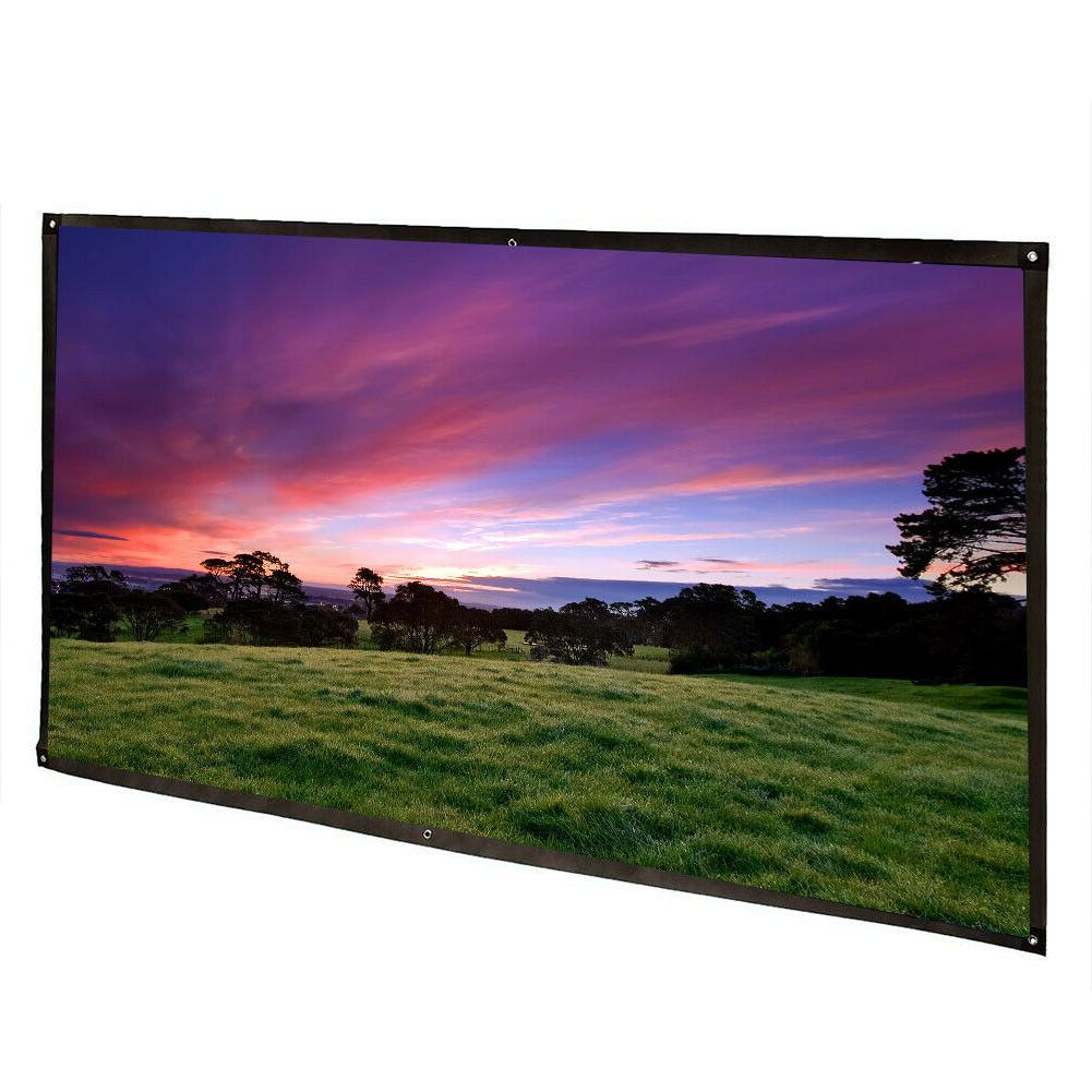 HD Projector Screen Home Cinema Projection Screen
