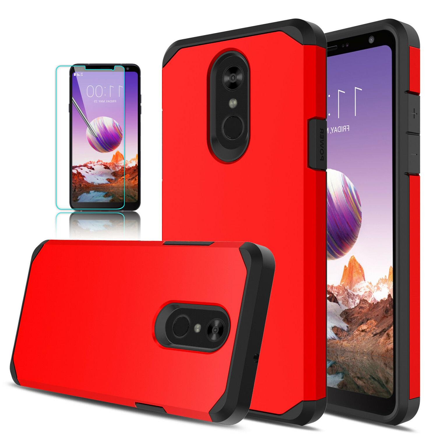 For Stylo 4/4+ Plus Cover/Tempered Glass Screen Protector