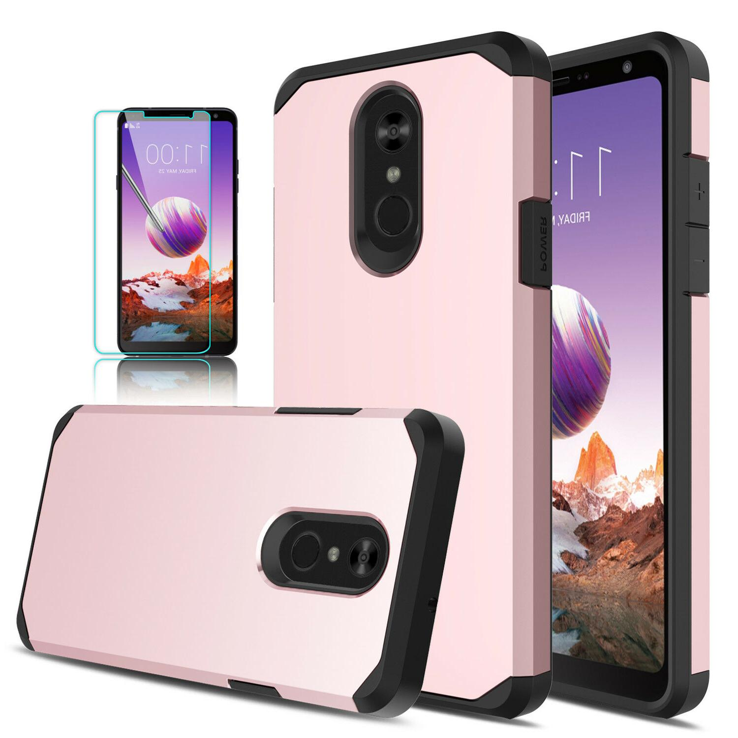 For Stylo 5/Stylo 4/4+ Armor Cover/Tempered Glass