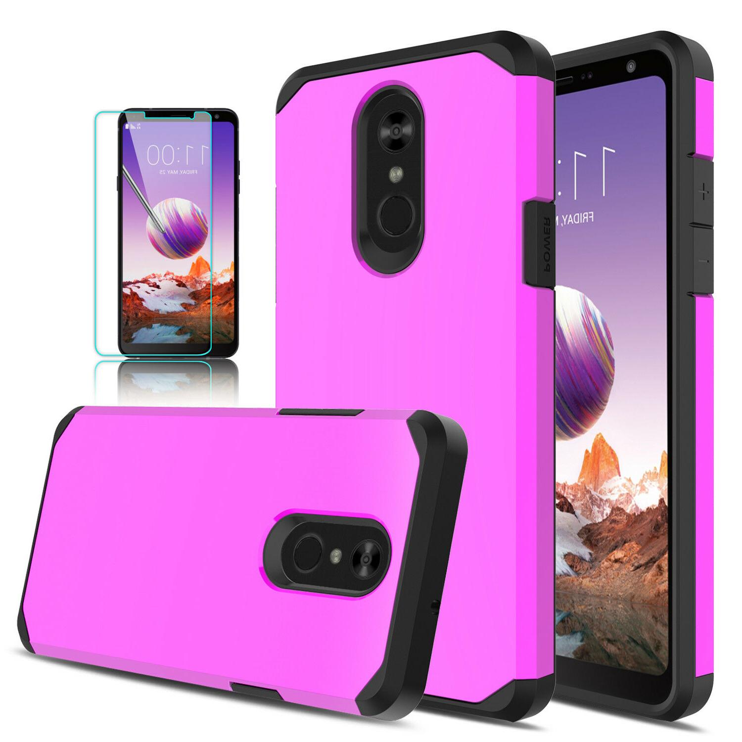For Stylo 4/4+ Plus Armor Cover/Tempered Glass