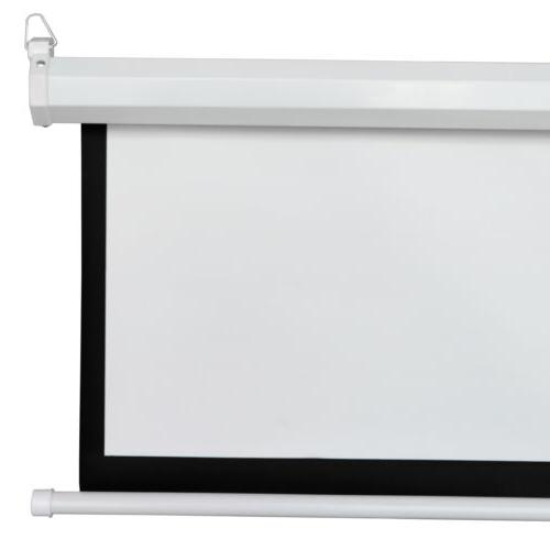 Projection Projector Screen Home Movie Pull Down