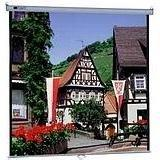 Model B Matte White Manual Projection Screen Viewing Area: 6