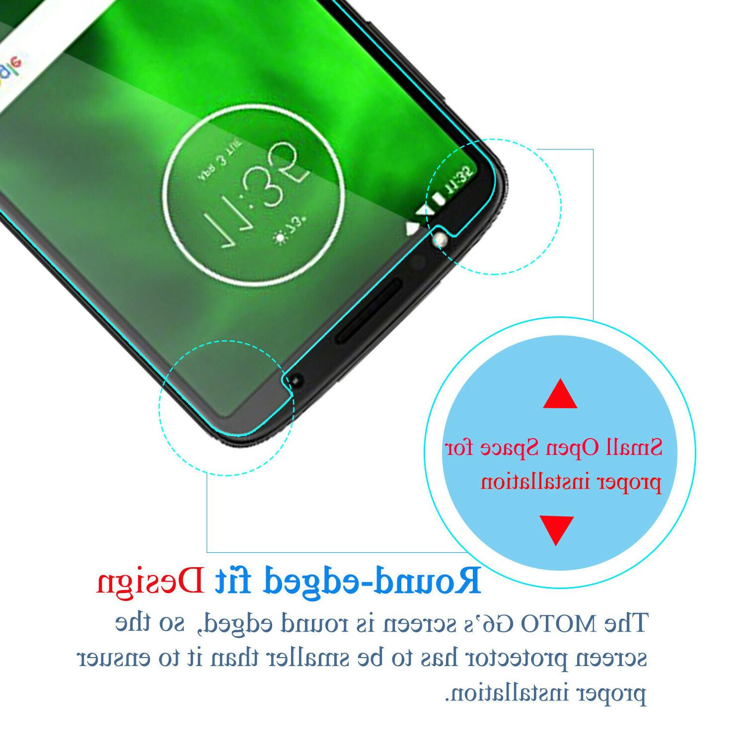 For G6 Shockproof Glass Screen Protector