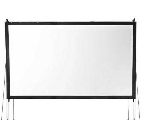 new 16 9 portable collapsable projector screen